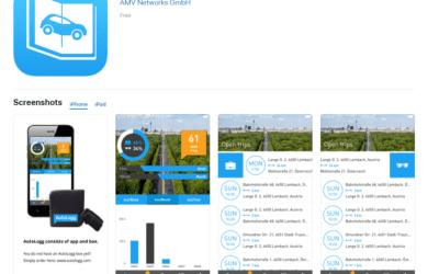AutoLogg gibt's jetzt für iOS auch auf Englisch