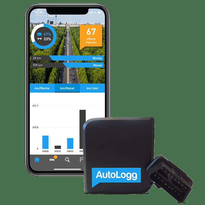 Mit der App von AutoLogg entspannt Fahrtenbuch führen - Elektronisches Fahrtenbuch
