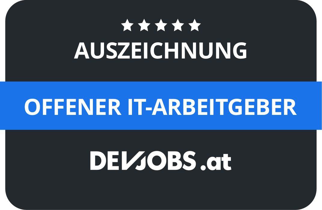 Karriere bei AutoLogg - Auszeichnung Devjobs.at