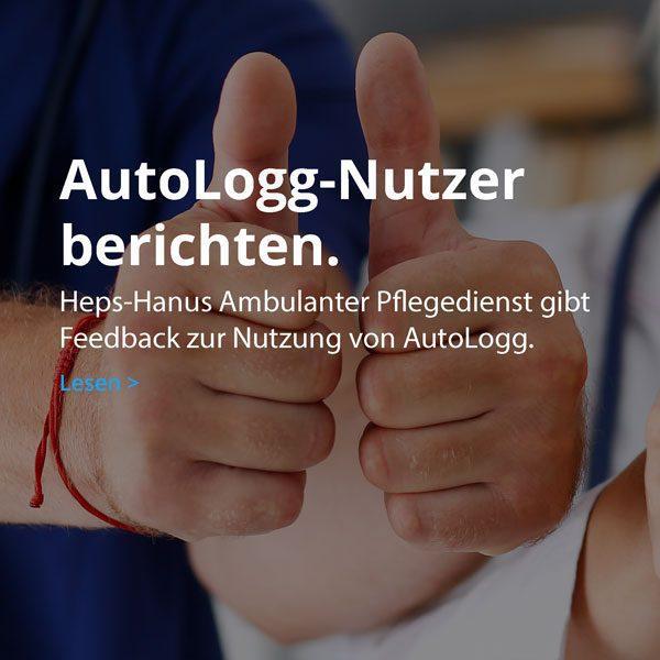 Ambulanter Pflegedienst gibt Feedback zu AutoLogg