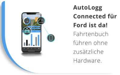NEWS: FORD Fahrtenbuch ohne zusätzliche Hardware